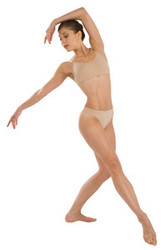 3678 - Capezio Adult Seamless Low  Rise Thong