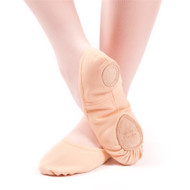 "246A - Body Wrappers Adult ""Wendy TotalSTRETCH®"" Canvas Ballet Slipper"