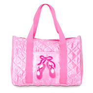 B951 - Danshuz Quilted On Pointe Duffle