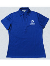 "Women Viper Blue ""Car Color"" Polo"
