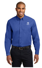 BLUE COUPE LONG SLEEVE SHIRT