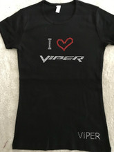 LARGE VIPER LOVE FITTED TEE SHIRT