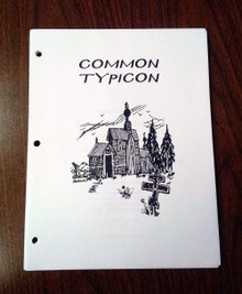 REVISED Common Typicon