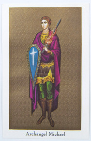 "Holy Card- ""Archangel Michael"" Holy Card pack"