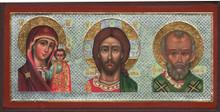 Triptych with Theotokos and Saint Nicholas