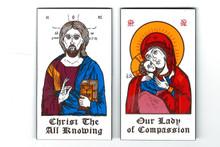 Christ and Theotokos Magnet Set