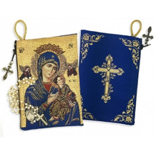 Our Lady of Perpetual Help pouch