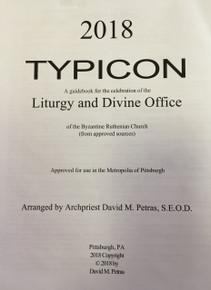 2018 Typicon