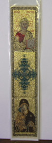 Bookmark- Christ & Virgin