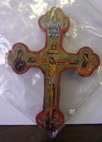 Cross- Small Byzantine Wall Cross