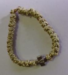 Prayer Rope- Prayer Rope Bracelet (gold)