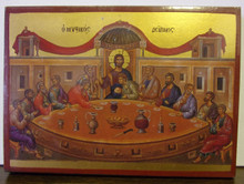 Icon- Last Supper (Greek)