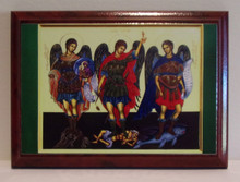Icon- Saints Gabriel, Michael & Raphael