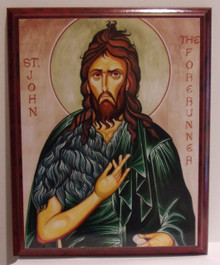 Icon- St. John The Baptist (3)