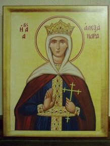 Icon- St. Alexandra