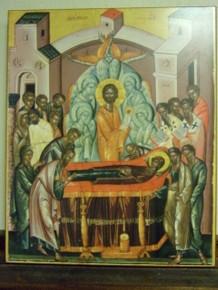 Icon- Dormition of The Mother of God (1)