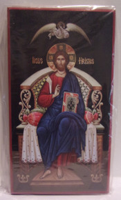 Icon- Christ Enthroned