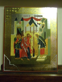 Icon- Entrance of The Theotokos into the Temple