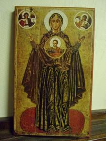 Icon- Theotokos of The Sign of Yaroslav - medium