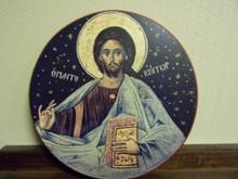 Icon- Pantocrator (Round)