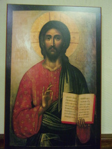 "Icon- Pantocrator ""Ruler of All"" (Moscow)"