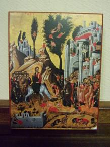 Icon- Entry Into Jerusalem