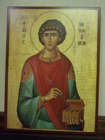 Icon- St. Panteleimon (3) - large