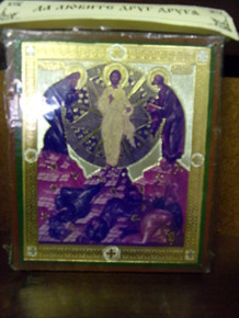 Icon- Transfiguration of the Lord (4)