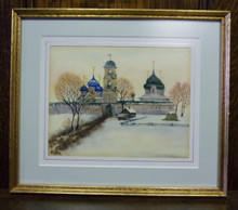 Wall Art- Russian Church in Winter (2)