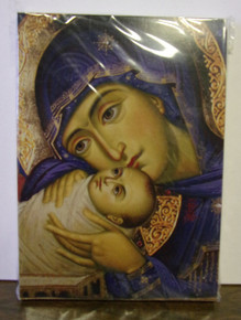 "Greeting Card- ""Virgin & Child"" Christmas Card (pack)"