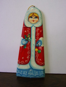 Ornament- Russian Christmas Woman