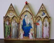 Ornament- Fra Angelico Madonna with Saints