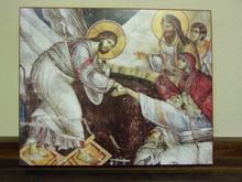 Icon- Resurrection (Protaton, Athos, 14th c.) - large