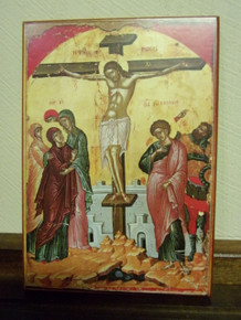 Icon- Crucifixion - medium/large