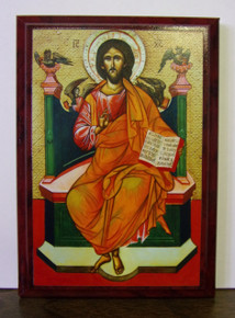 Icon- Christ Enthroned (2) - small