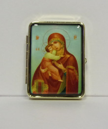 Pill Box- Virgin of Vladimir