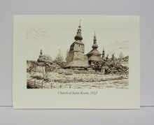 Card- Church Drawings (set of 10)