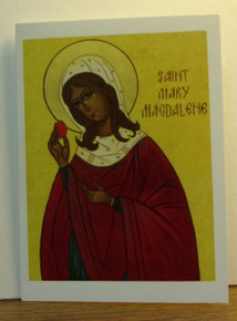 """Greeting Card- """"St. Mary Magdalene"""" Easter Card"""