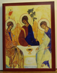 "Greeting Card- ""Holy Trinity"" Note Card"