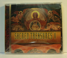 CD- Sacred Treasures V:  From A Russian Cathedral