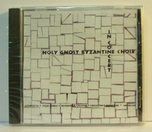 CD- Holy Ghost Byzantine Choir In Concert