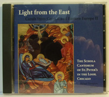 CD- Light from the East: Carols from Central and Eastern Europe II
