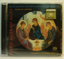 CD- Unto Ages of Ages: Sacred Choral Music of Sviridov, Rachmaninoff, and Tchaikovsky