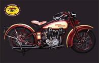 1929 Harley-Davidson JDH Motorcycle Postcard