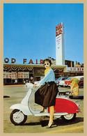 Lambretta Scooter Postcard