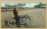 Sears Motorcycle Postcard