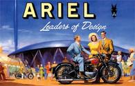 Ariel Postcard