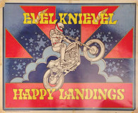 Evel Knievel 'Happy Landings' Poster