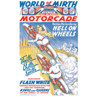 World of Mirth Motorcade/Wall of Death Poster