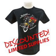 "National Motorcycle Museum ""King Bill"" T-Shirt front"